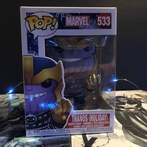 Thanos Holiday Funko.